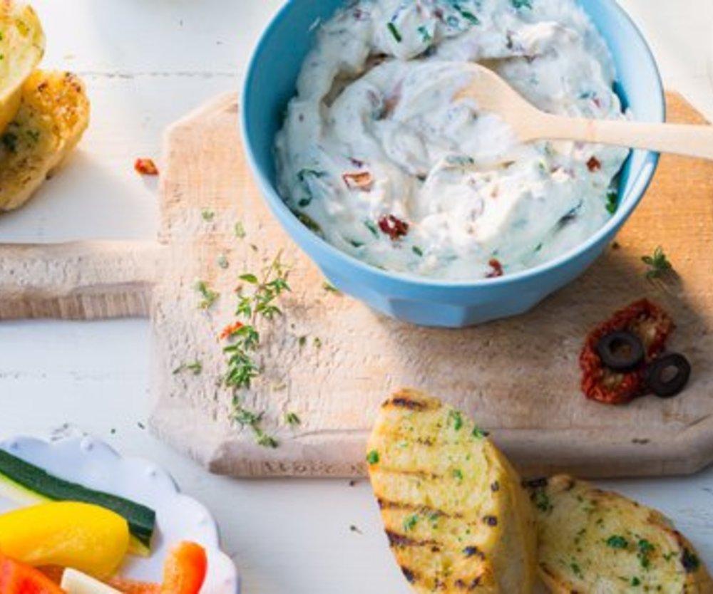Mediterraner Gemüse-Snack von MILRAM