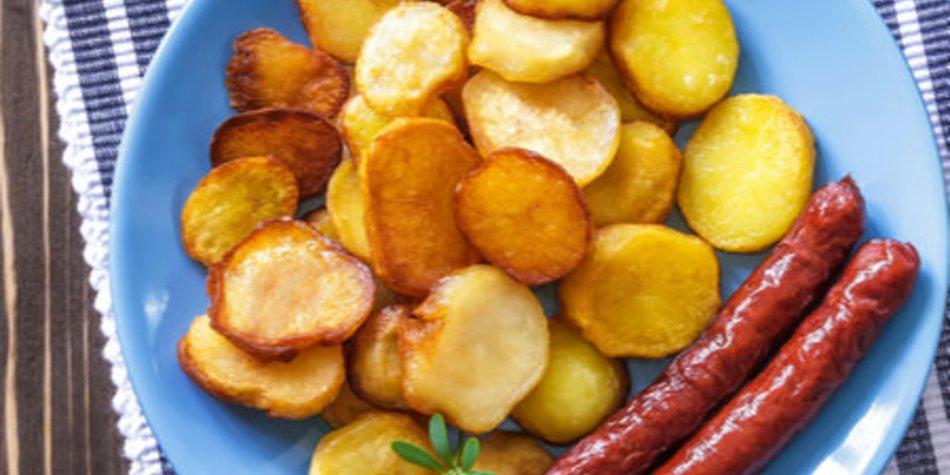 Knusprige Bratkartoffeln