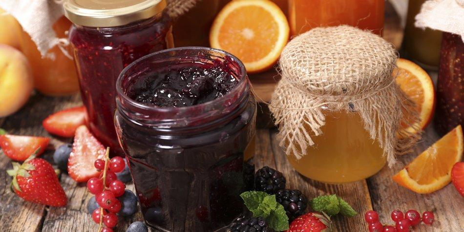 Marmelade gehört zu den klassischen Geschenkideen aus der Küche.