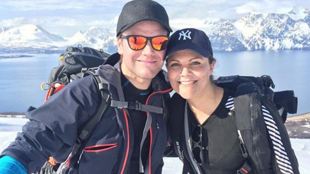 Victoria von Schweden schickt süße Grüße aus dem Schnee
