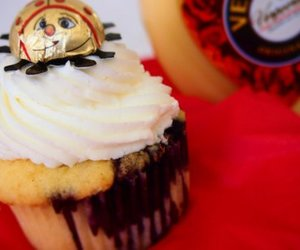 Käfer-Cupcakes mit dem gewissen Etwas