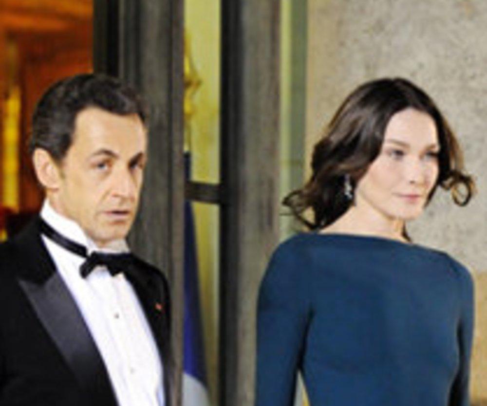 Nicolas Sarkozy und Carla Bruni: Liebesaus?