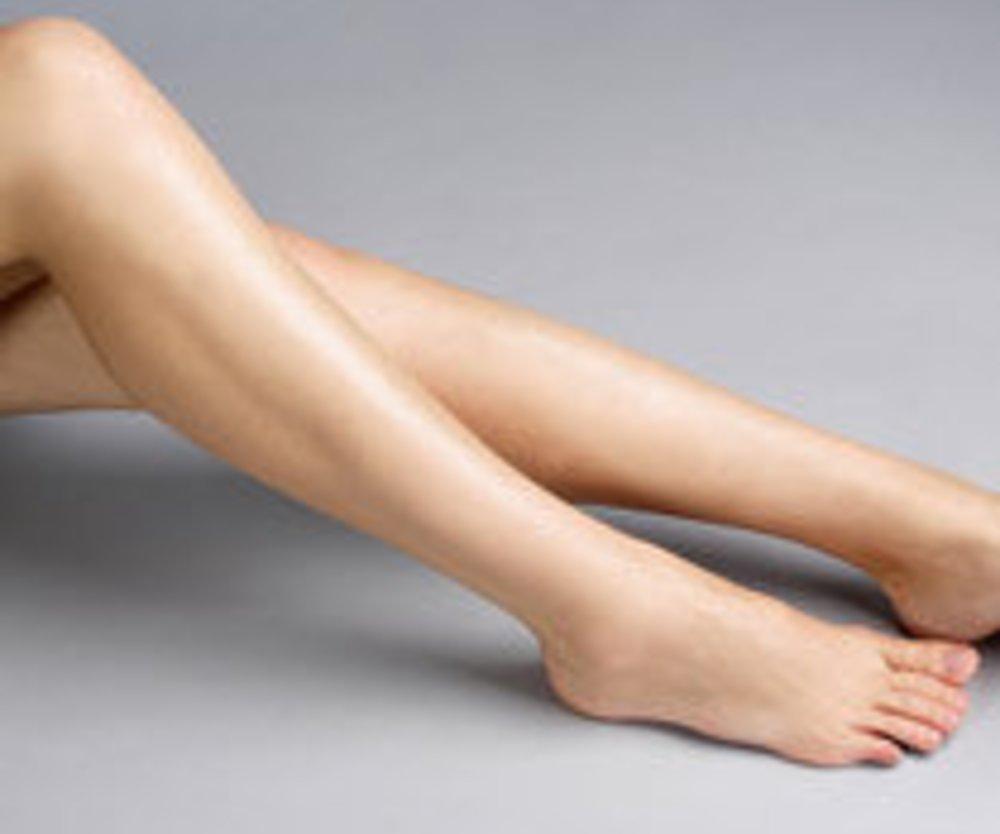 Schöne, glatte Beine