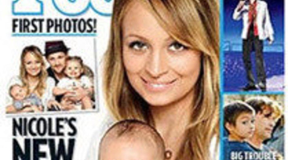 Nicole Richie zeigt ihr Baby