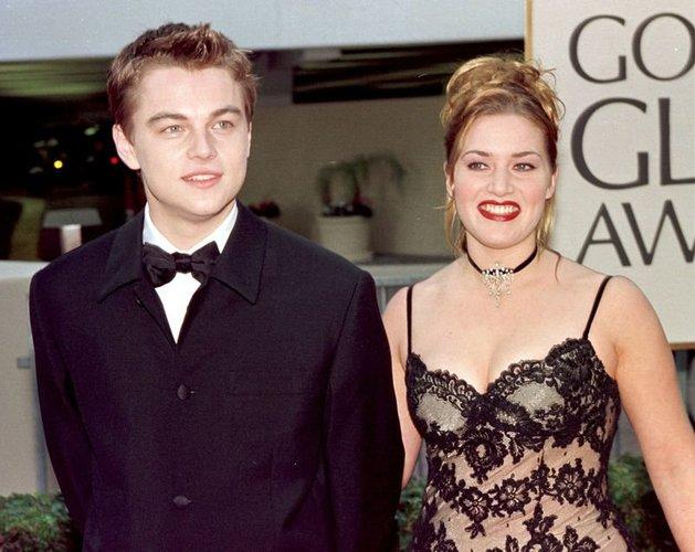 Kate Winslet und Kollege Leonardo DiCaprio