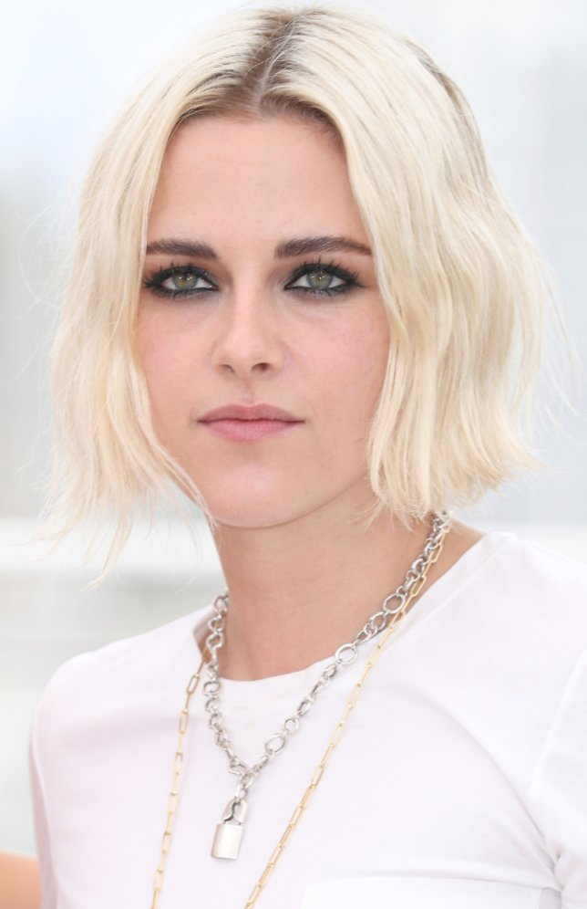 Kristen Stewart mit Platinbob