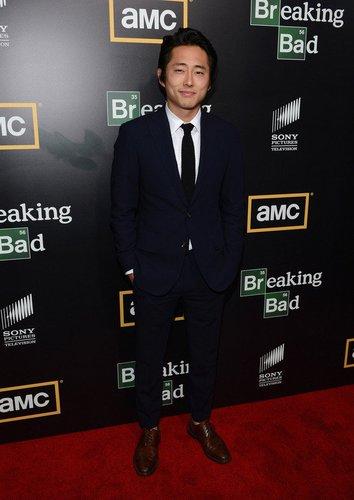 The Walking Dead-Darsteller Steven Yeun.