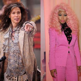 Nicki Minaj beschimpft Steven Tyler als Rassist!