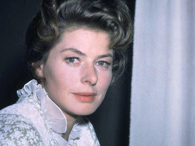 Ingrid Bergmann spielte in Casablanca und heiratete Roberto Rosselini