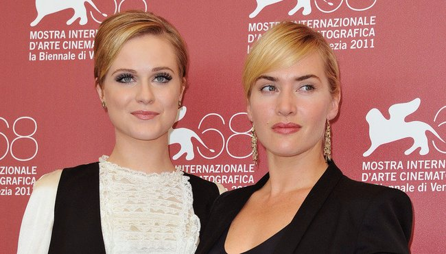 Kate Winslet und Evan Rachel Wood