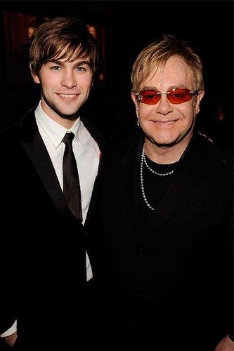 Chace Crawford: Elton John