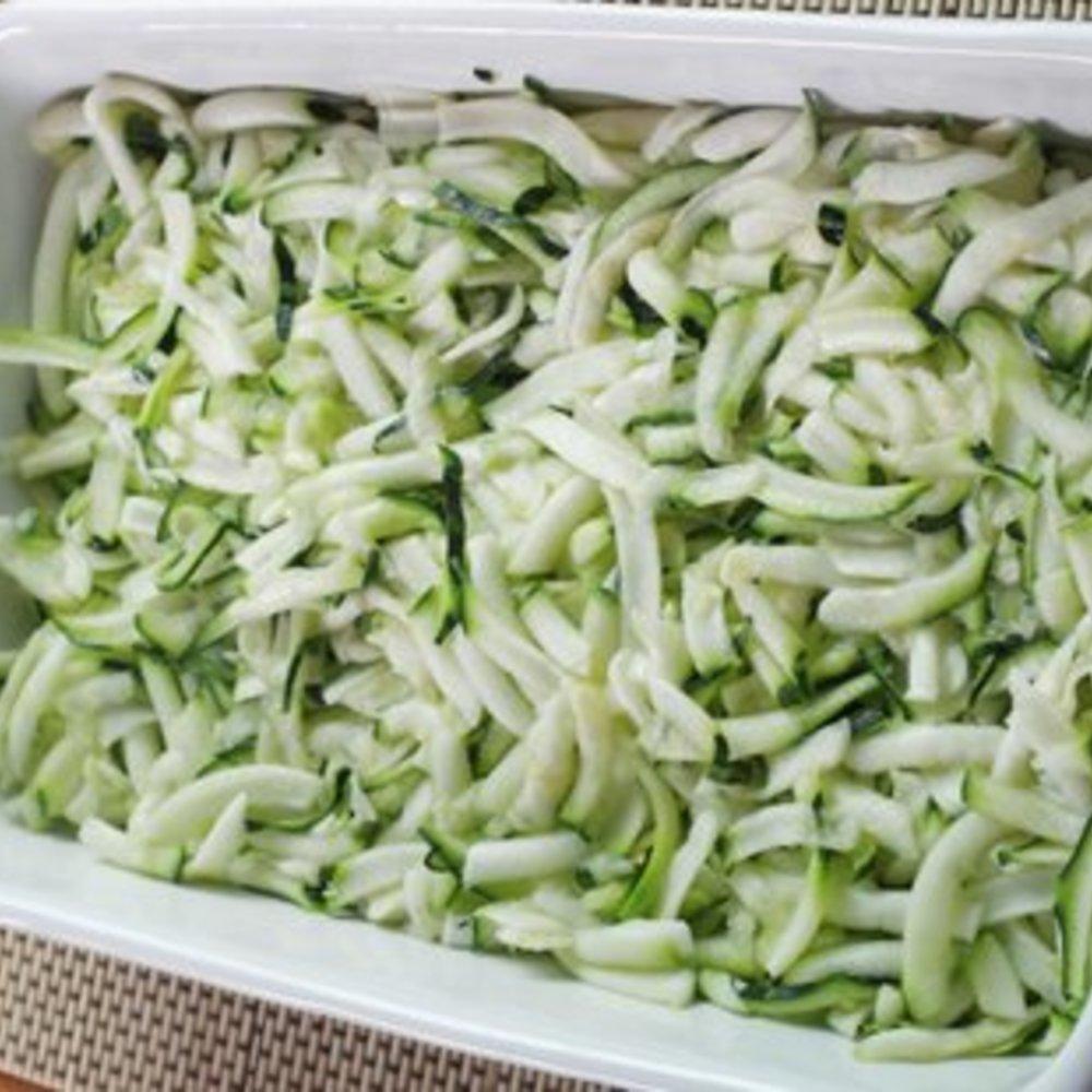 Zucchini Auflauf mit Feta