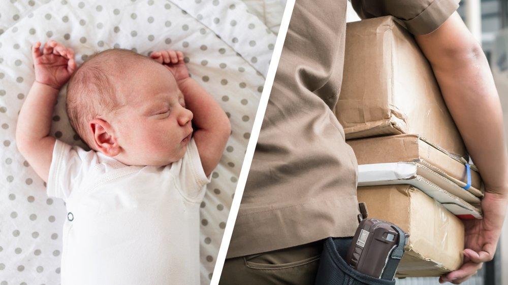 Frau Baby Post verschicken