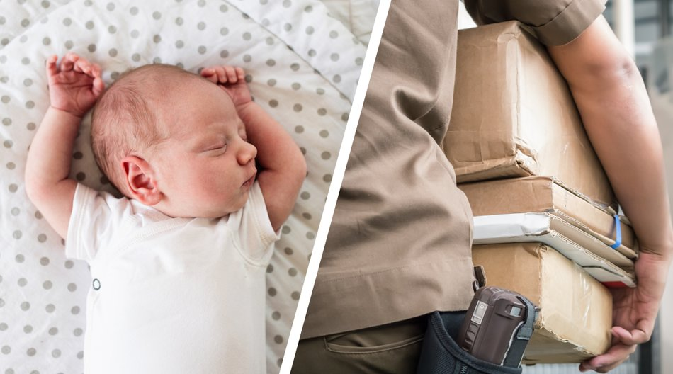 Wie grausam! Mutter verschickt Neugeborenes per Post