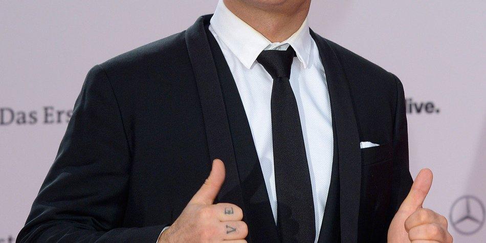Robbie Williams hatte eine Haartransplantation