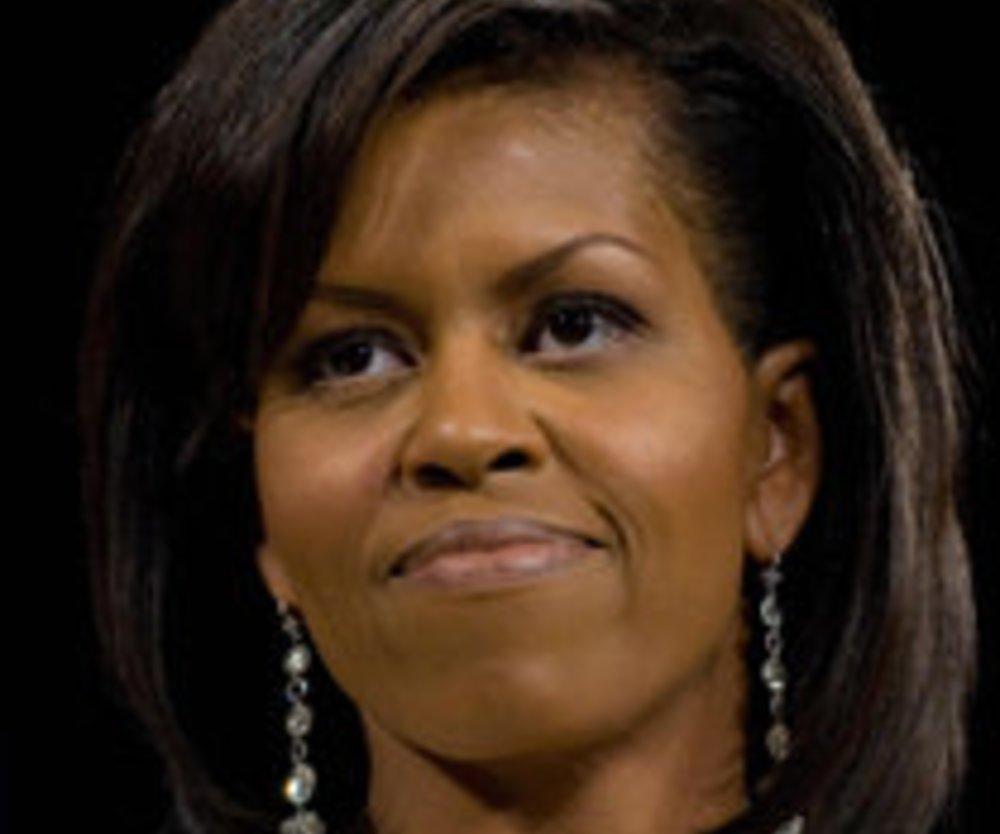 Die First Lady in Michael Kors