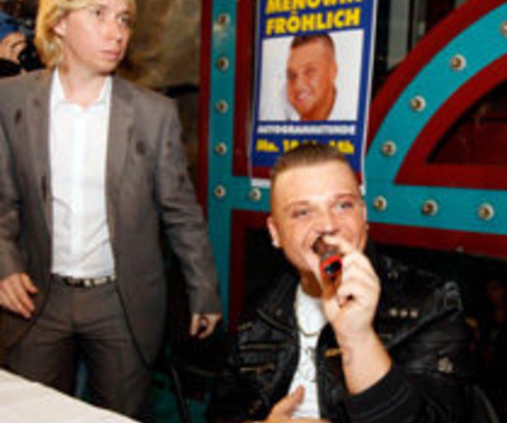 Menowin Fröhlich: nach Prügelvorwürfen abgetaucht