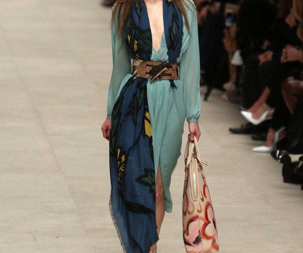 Burberry Prorsum bei der London Fashion Week F/W 2014/15