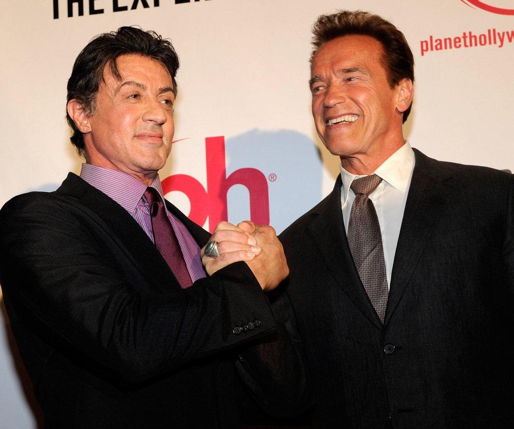 Arnold Schwarzenegger im Krankenhaus