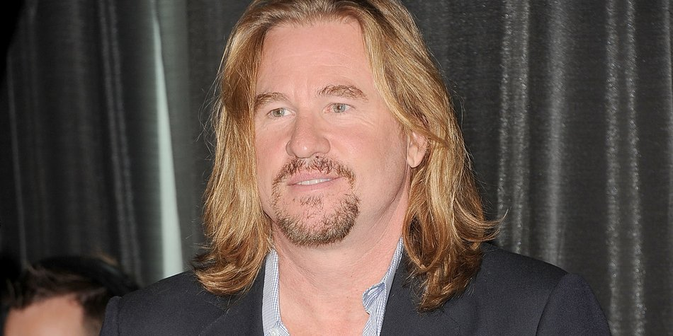 "TORONTO, ON - SEPTEMBER 12: Actor Val Kilmer speaks onstage at the ""Twixt"" press conference during the 2011 Toronto International Film Festival at TIFF Bell Lightbox on September 12, 2011 in Toronto, Canada. (Photo by Jason Merritt/Getty Images)"