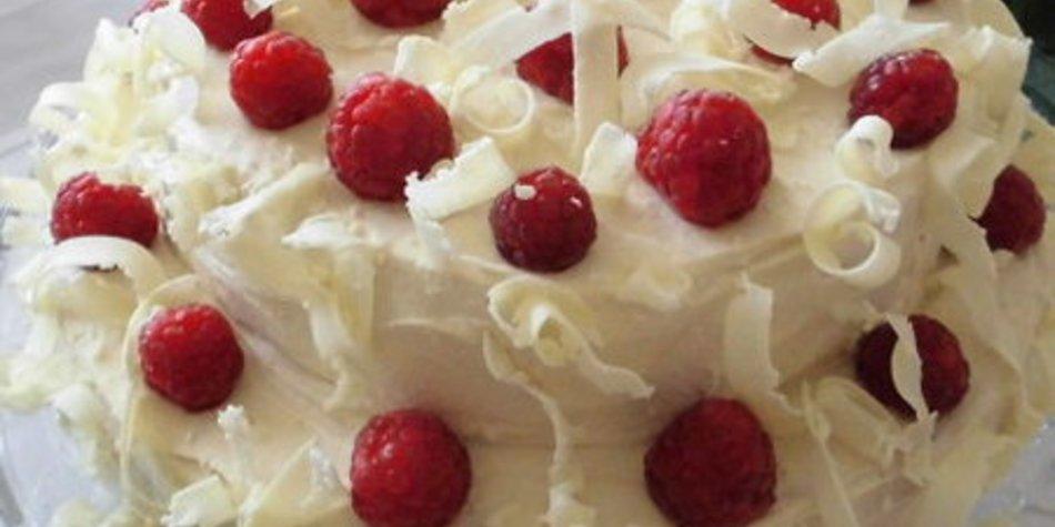 Schneeflocken Torte