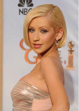 Christina Aguilera trägt Perücke in ihrem neuen Film