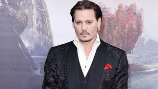 """LONDON, ENGLAND - MAY 10: Johnny Depp attends the European premiere of """"Alice Through The Looking Glass"""" at Odeon Leicester Square on May 10, 2016 in London, England. (Photo by Jeff Spicer/Getty Images)"""