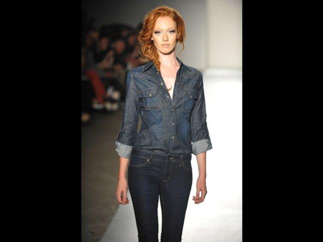 DL 1961 Premium Denim Spring 2013 New York Fashion Week