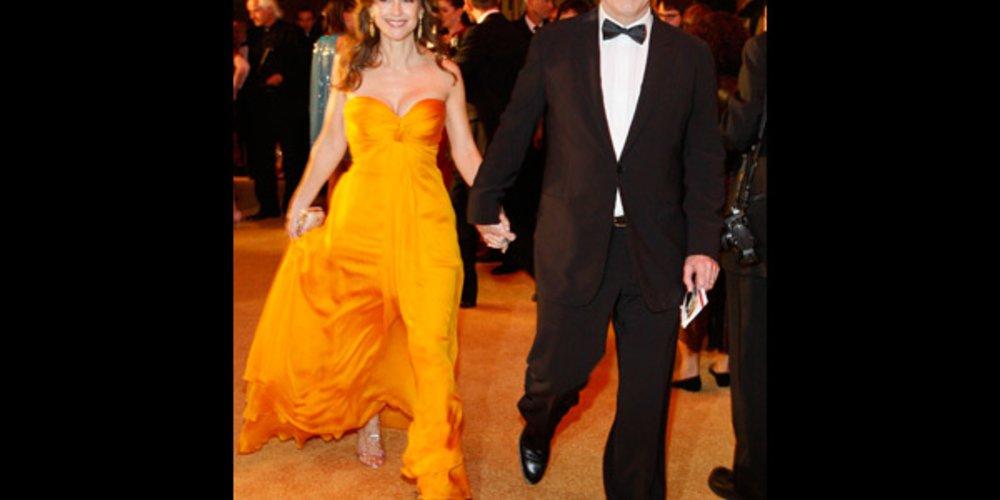 John Travolta und Frau