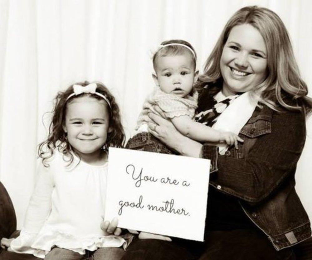 Du bist eine gute Mutter
