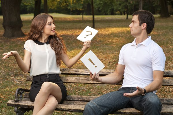 Männer und Frauen reden oft aneinander vorbei
