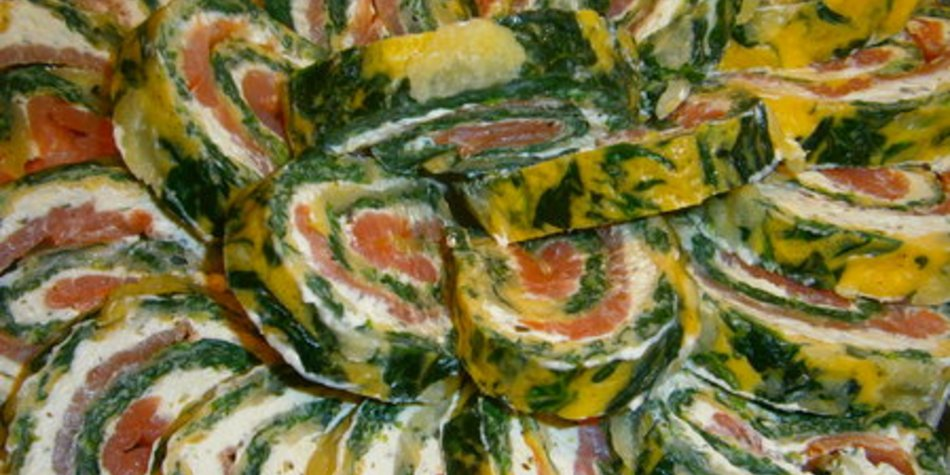 Lachs-Mangold-Rolle