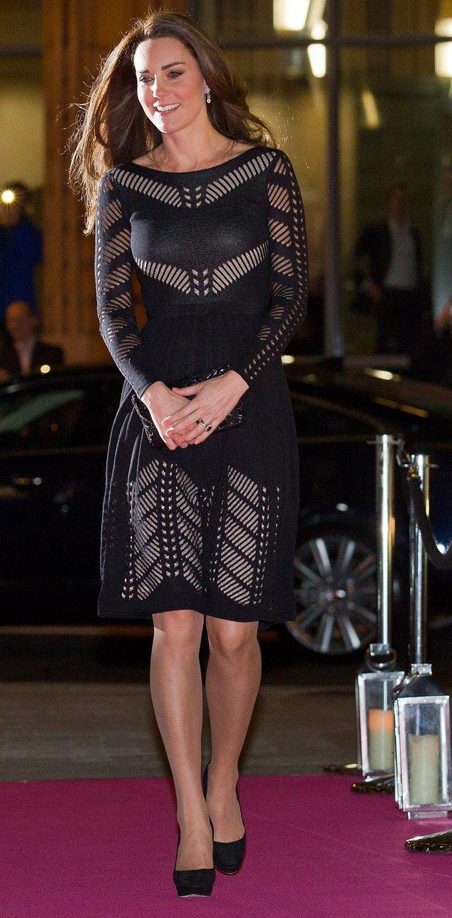Kate Middleton bei einer Gala