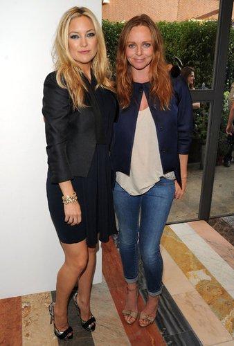 Kate Hudson und Stela Mc Cartney setzen auf Blazer für jede Gelegenheit