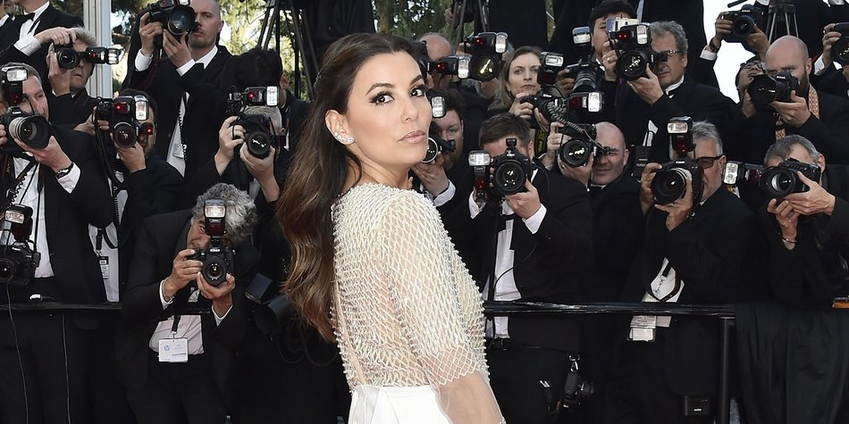 "CANNES, FRANCE - MAY 11: Eva Longoria attends the ""Cafe Society"" premiere and the Opening Night Gala during the 69th annual Cannes Film Festival at the Palais des Festivals on May 11, 2016 in Cannes, France. (Photo by Pascal Le Segretain/Getty Images)"