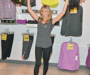 Heidi Klum macht Fitnessmode