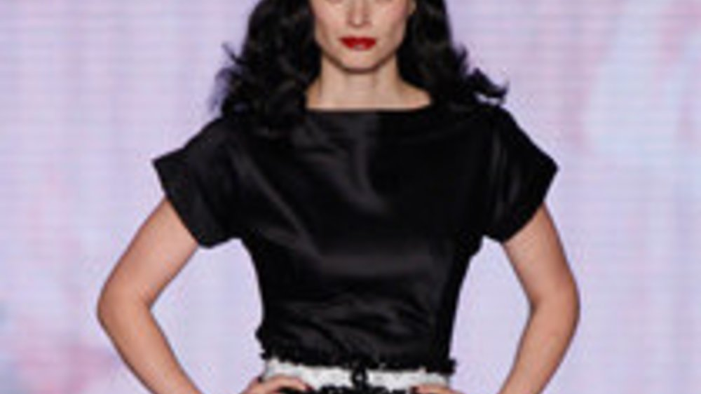 Lena Hoschek mit 50er Jahre Mode