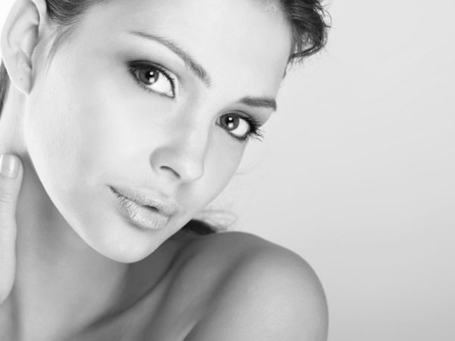 Ultraschall-Gesichtspflege