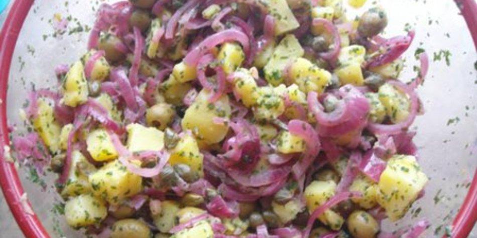 Kartoffelsalat ohne Mayo
