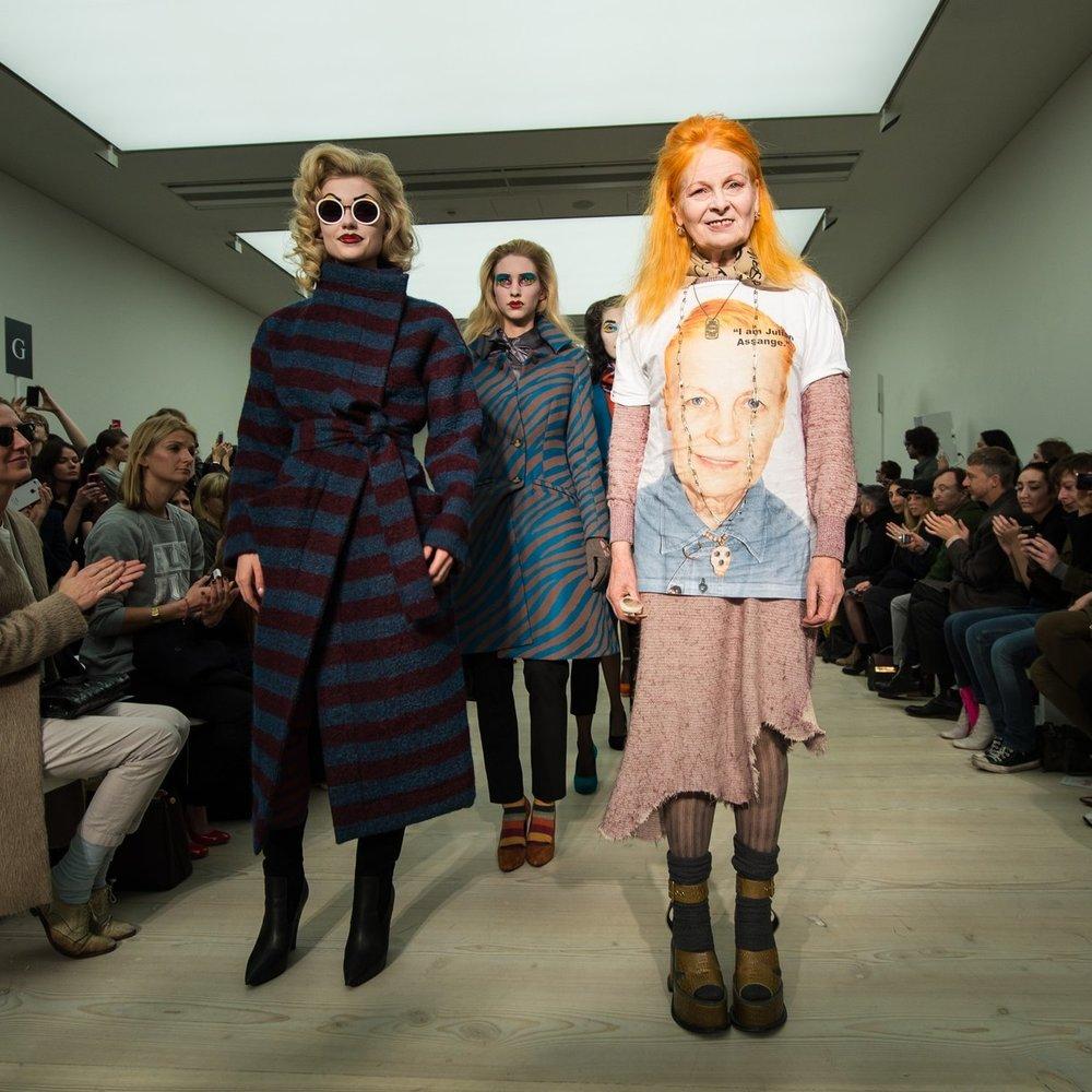 London Fashion Week 2013: Vivienne Westwood lässt es funkeln