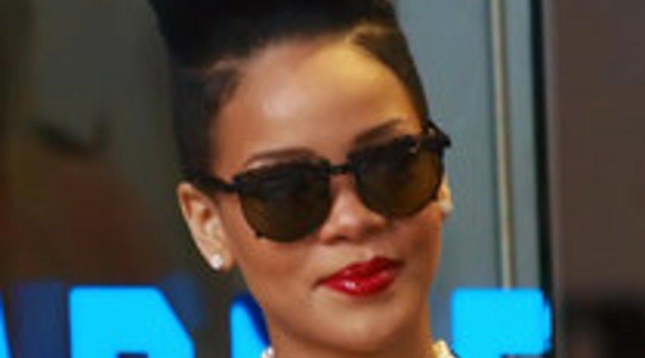 Rihanna auf Stippvisite in Berlin
