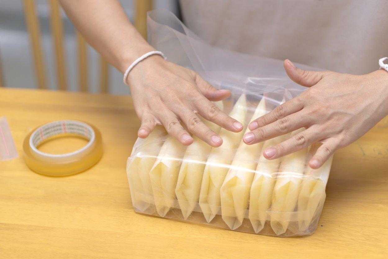 Muttermilch einfrieren und auftauen