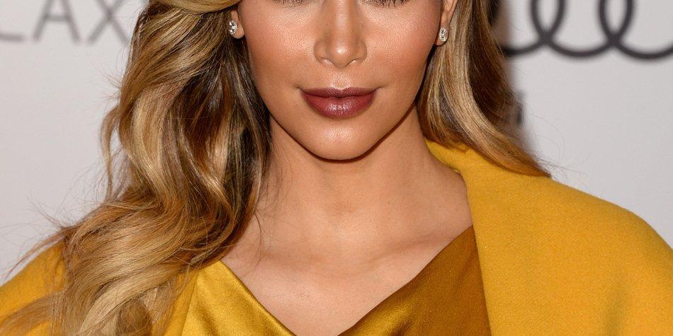 Kim Kardashian wünscht niemandem die Strapazen einer Schwangerschaft