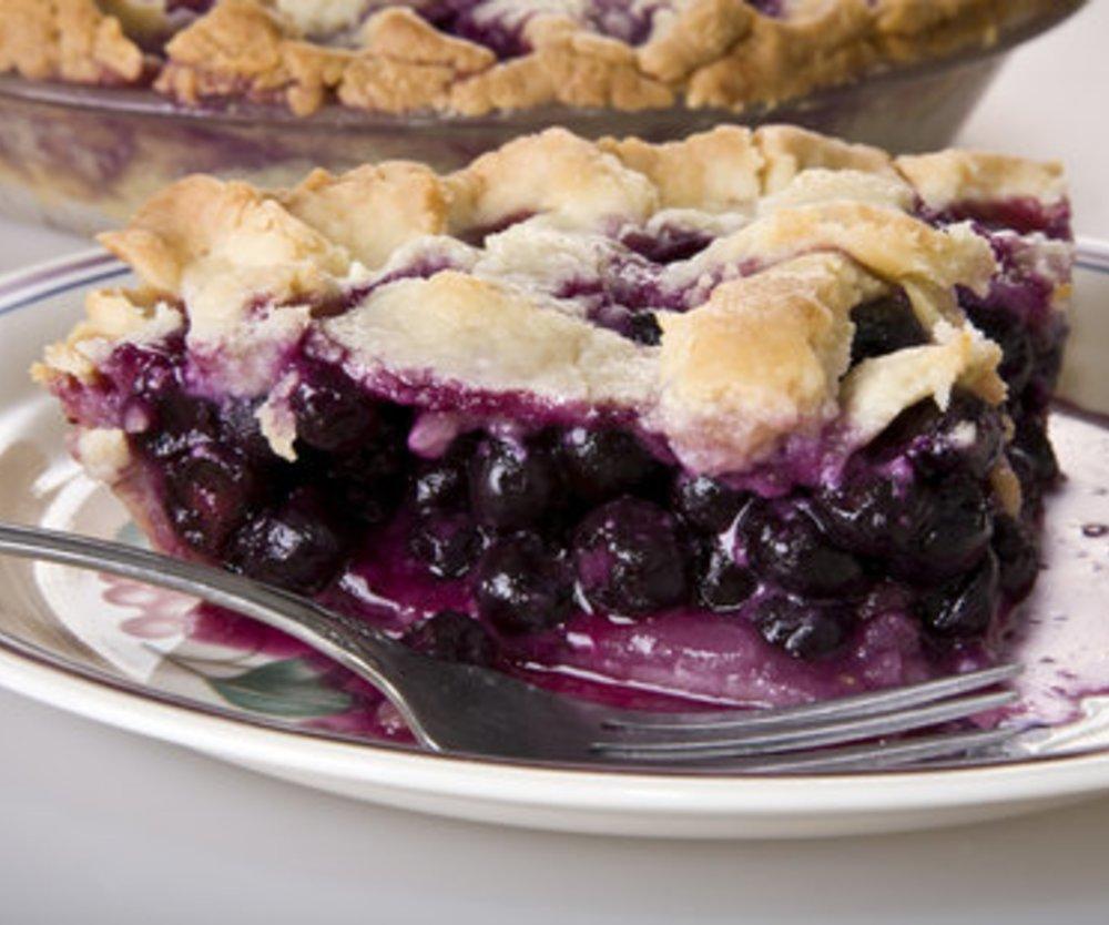 Blaubeer Pie