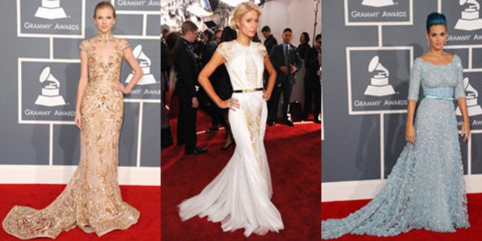 Grammys 2012 – Die spektakulärsten Kleider