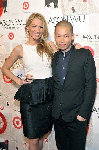 Blake Lively und Jason Wu.