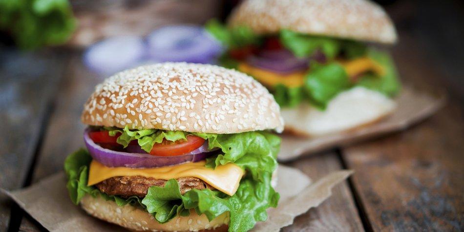 Veggie Burger mit Fleischgeschmack