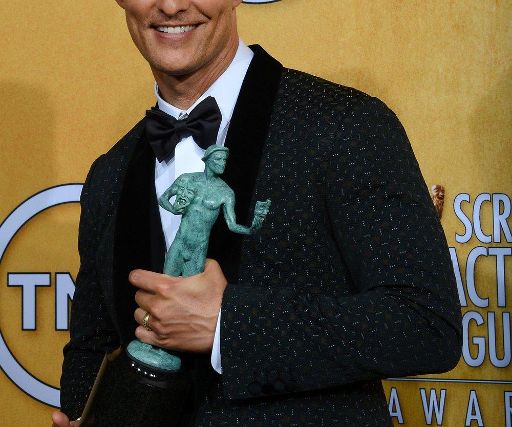 Matthew McConaughey gewinnt auch bei den SAG Awards