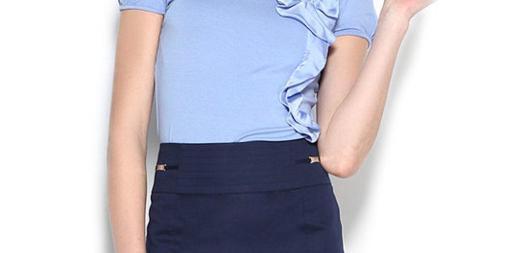 Blaues Shirt von Orsay