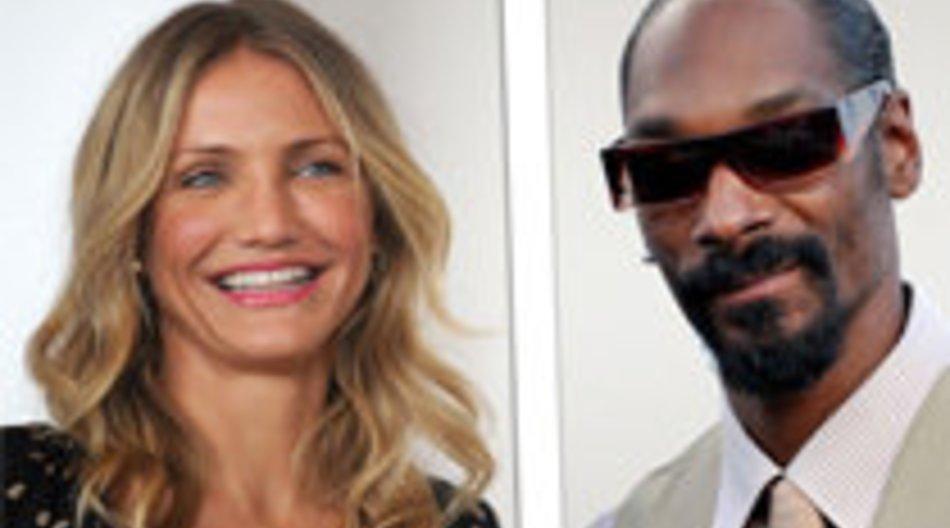 Cameron Diaz kaufte Gras bei Snoop Dogg